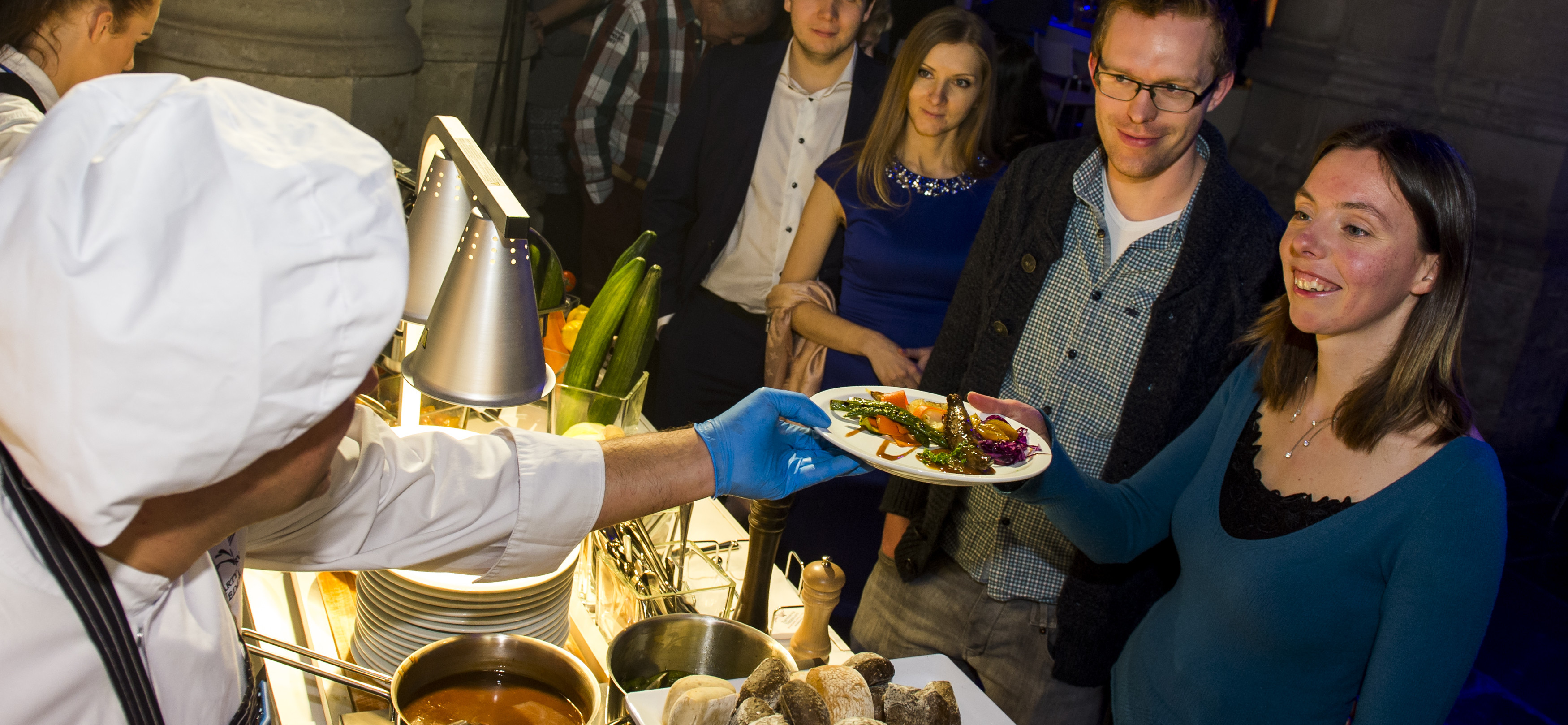 Feest Wintershall, Partyservice, 7 februari 2015, Grote Kerk, Goes. Foto Marco De Swart